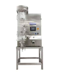 Laboratory fluid bed processors